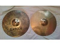 """Sabian AAX 14"""" Fusion Hi-Hats - Cymabls"""