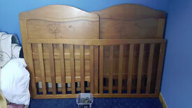 Winnie The Pooh Cot / Bed for Sale