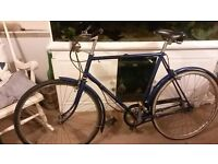 2 matching vintage raleigh bikes male and female