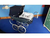 (TOY) SILVER CROSS DOLLS PRAM