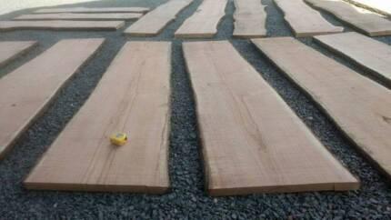 Timber Slabs Silky Oak Live Edge  + MORE