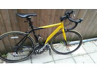 CARRERA TDF YELLOW-BLACK ROAD BIKE