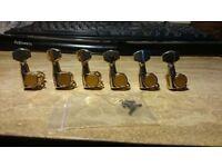 Second hand golden machine heads from my Ibanez RG570 CTAM