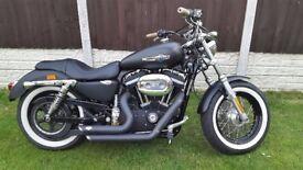 Beautiful Harley-Davidson Sportster XL Custom 1200