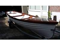 18ft Lough fishing boat on new galvanised trailer