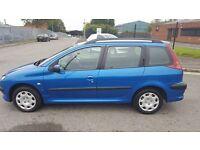 Peugeot 206 SW 2.0 diesel 2004