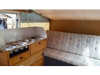 Dandy Trailer For Sale, Sleeps 4/5, PVC Material So No Rotting!