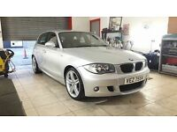 DECEMBER 2008 BMW 118D M-SPORT ONE OWNER 85,000 MILES FULL SERVICE HISTORY ONLY £30 A YEAR ROAD TAX