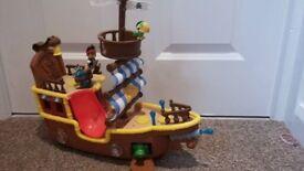 Jake's Musical Pirate Ship 'Bucky'