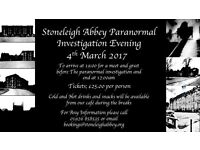 Stoneleigh Abbey Paranormal Investigation Evening