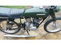 1977 Kawasaki 100cc