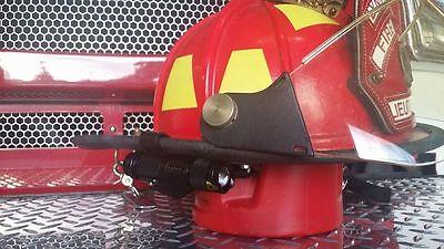 Firefighterfiremen Helmet Light Black Bracket Black Flashlight Led