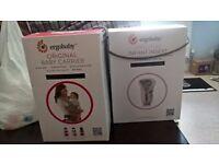 Ergo Original with newborn insert - original boxes vgc