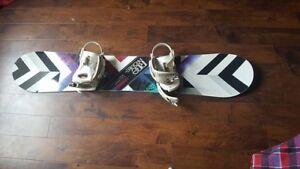 Snowboard ride