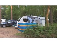 Sun Camp Swift 220 Deluxe canopy/porch