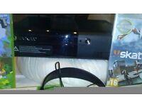 Xbox 360. 2 x controllers, 1 x headset, 4 x Games - FIFA15/minecraft/ Skate/ Star wars