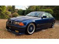 1998 BMW e36 328i Avus Blue Coupe M sport Manual CSL BBS