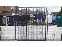 wrought iron gates / door security gates / home security / galvanised gates / patio doors / metal