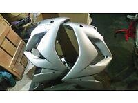 Yamaha FZ1-S OEM lower fairings and fitting kit. 2006 onward