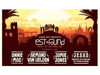 2 x VIP tickets, AMP Lost and Found, Malta - £90 each (face £149)