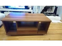 table coffe or tv table with 2 drawers