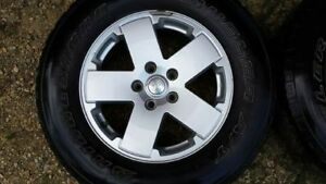 2012 Jeep Wrangler Sahara Unlimited Factory Rims