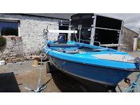 16 ft open boat
