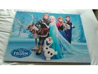 Frozen canvas five pounds only