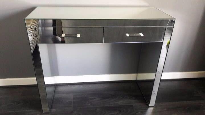 Next Valencia Mirrored Console Table