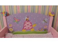 Teamson Magic Garden Toddler Bed