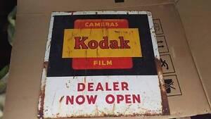 Vintage Kodak Dealer Sign Ellalong Cessnock Area Preview