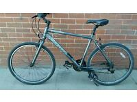 Carrera subway urban shift hybrid, aluminium frame, 21 sram 3.0 comp gears