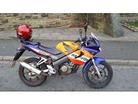Honda CBR 125 repsol recently serviced