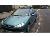 Peugeot 206. year 2001. low mileage