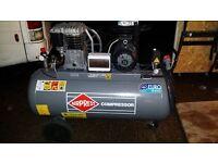 compressor and generatorfor sale 6200£