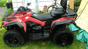 2016 can am 450 max