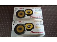 Speakers - Pioneer TS-E1396 x 4 - Good Condition