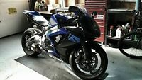 Never-dropped, very clean GSXR w/ Akrapovic Carbon Fibre Exhaust