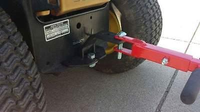 Universal Lawn Garden Tractor Hitch - Cub Cadet  John Deere  Craftsman  Snapper