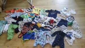 Baby clothing lot.