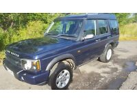 L@@K Land Rover Discovery TD5 4x4 **Diesel**7 Seater**Towbar**12 MONTHS MOT**Excellent Condition**