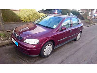 2003 '53 Plate Vauxhall Astra 1.6 Petrol Manual - No Advisories - Red - Good Condition