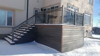 Aluminum Railings, Glass Railings, Columns - Best Prices In GTA