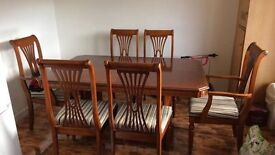 TABLE AND CHAIRS WORTH MUCH MORE THAN IM SELLING IT FOR BARGAIN!!! £150 ONO