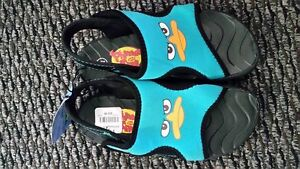 NEW kids sandals size 11.5 Phineas and Ferb
