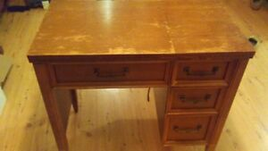 Cute solid wood desk sewing table