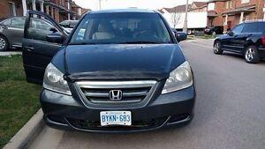 2005 Honda Odyssey EXL Minivan, Van