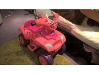 Mini Mouse girls electric quad bike