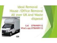 ALL LONDON & UK MOVING - MAN & VAN HOUSE REMOVALS LUTON TRUCK HIRE SOFA BED FRIDGE DELIVERY/ MOVING