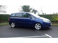 Vauxhall Zalfira Very Tidy High spec 150 cdti 7 seater